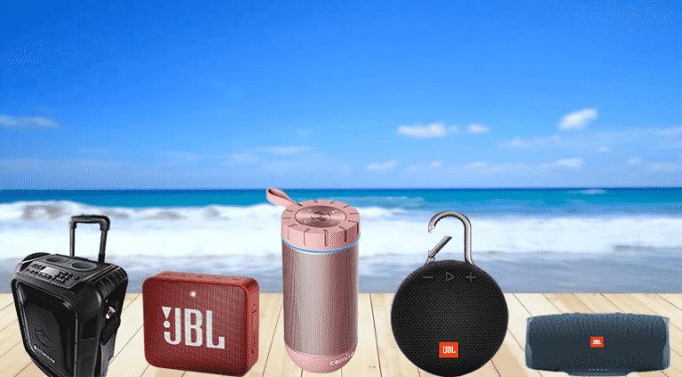 5 Best Bluetooth speaker for the beach