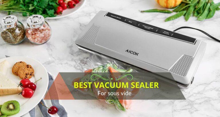 Top 10 best vacuum sealer for sous vide