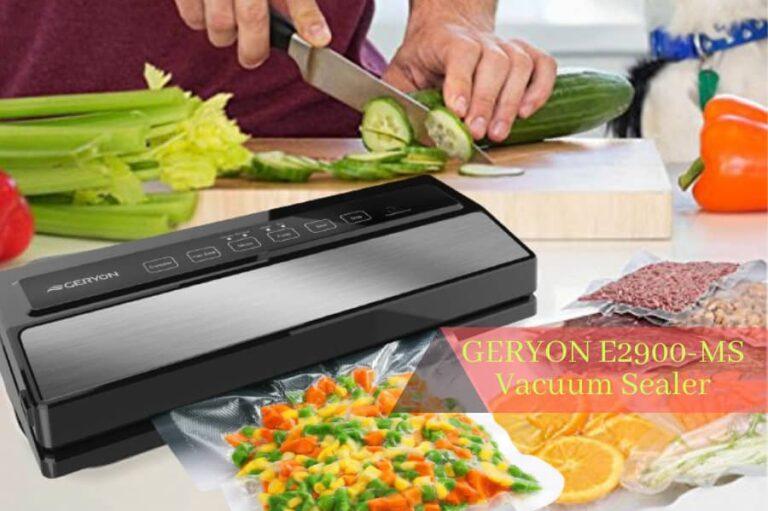 GERYON E2900-MS Vacuum Sealer Review