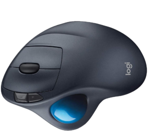 Best thumb-operated and Gaming - Logitech M570Wireless Trackball Mouse