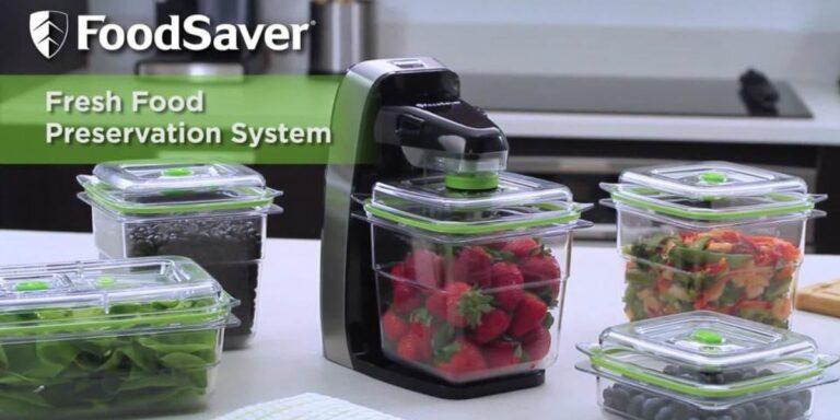 Foodsaver fm1510 Food Preservation Review