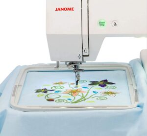 Janome memory craft 500e review - Large Embroidery Area